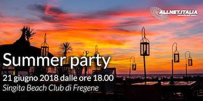 Allnet.Italia - Summer party Roma