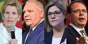 Ontario Election 2018:  Party with the Parties...