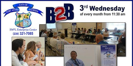 B-2-B Monthly Business Networking Luncheon tickets
