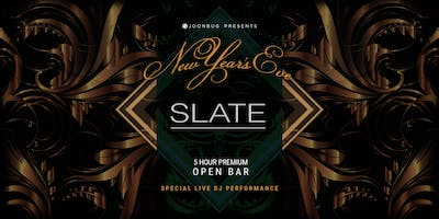 Joonbug.com Presents The Slate New Years Eve Party 2019