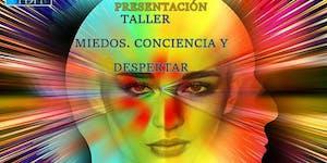 """Charla gratuita presentación:   """"TALLER MIEDOS,..."""