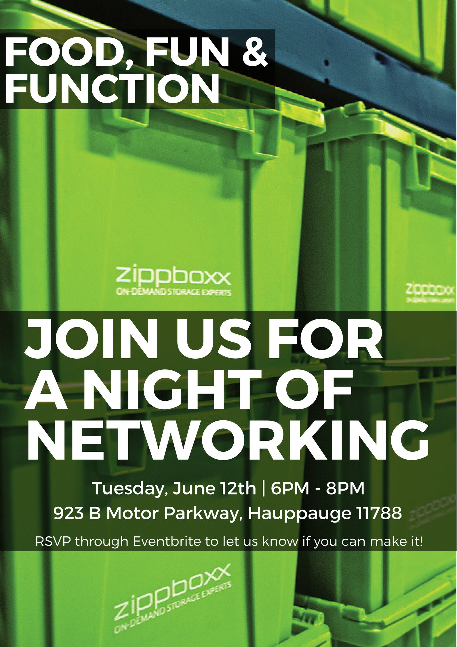 A Night of Networking at Zippboxx with David Gussin of 631Ads & 516Ads