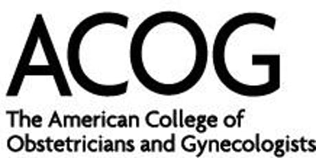 2019 ACOG Annual Meeting tickets