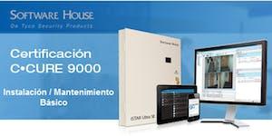 Certificación BÁSICA C•CURE 9000 v2.70 - Bogota -...