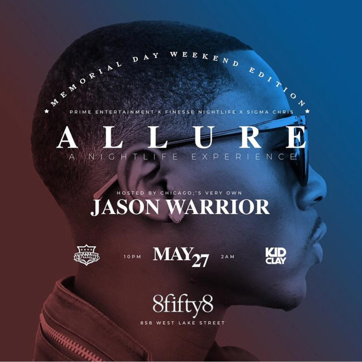 Allure: Nightlife Experience featuring Jason