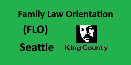 Family Law Orientation - Seattle - King County