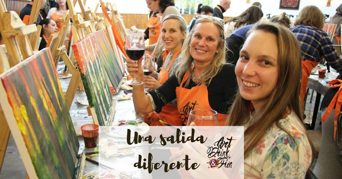 Art, Drink & Fun - 20 de junio - Araóz/Palerm
