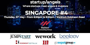 Startup&Angels Singapore #4 - 2018: A New Investor...