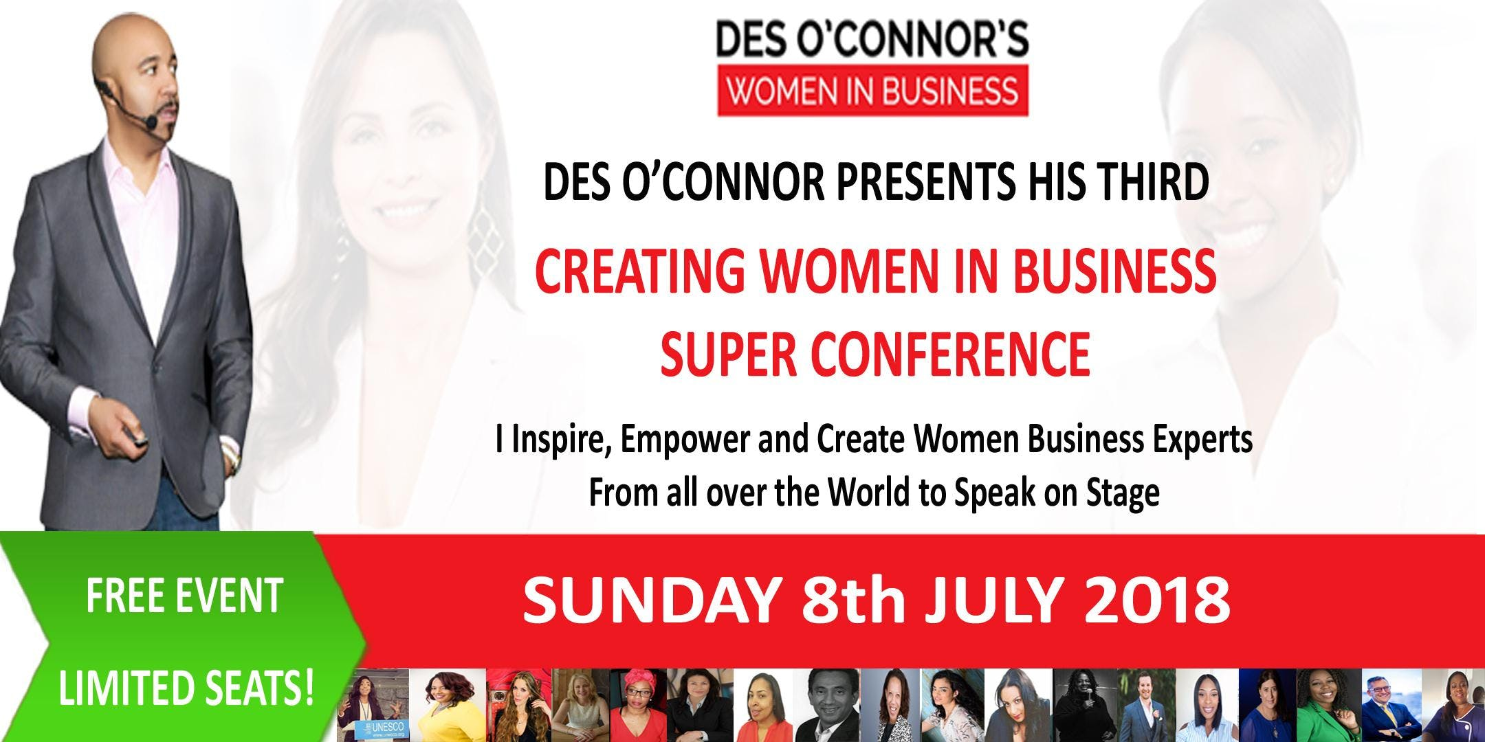 FREE Creating Women in Business Experts Confe
