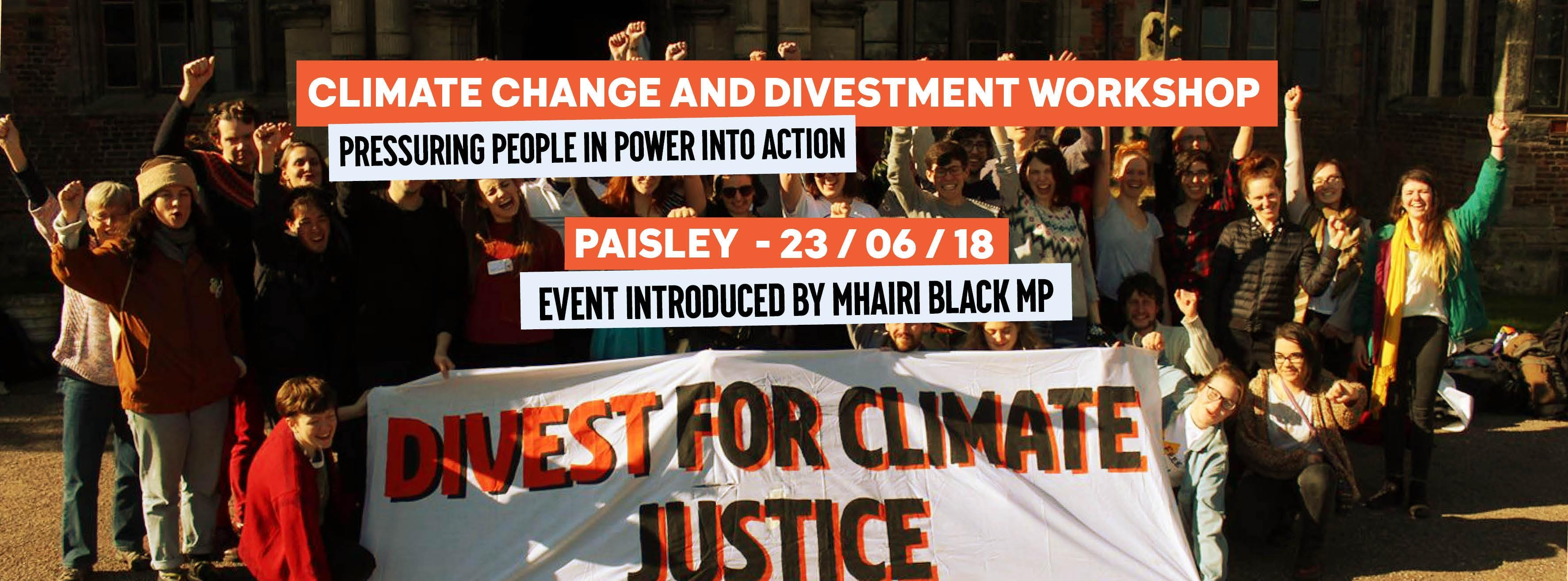 Climate Change & Divestment - Paisley Skill S