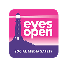 Eyes Open Social Media Safety logo