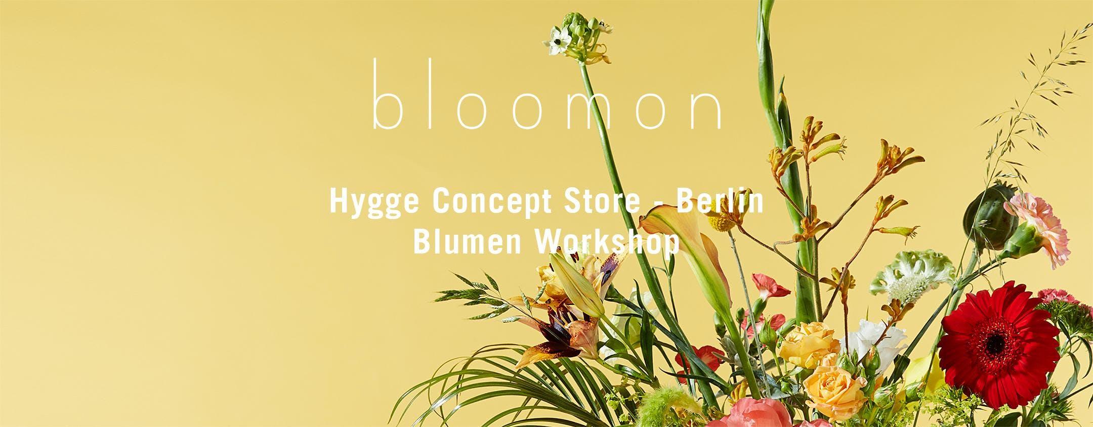 bloomon Workshop 19. Juli | Berlin, Hygge Con