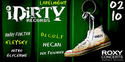 "iDirty Label Night"" im Roxy Flensburg"