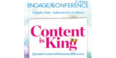 Engage Conference 2018: Content is King!