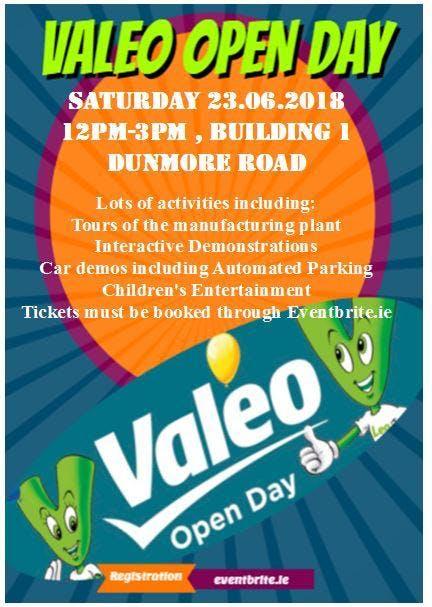 Valeo DVS Annual Open day