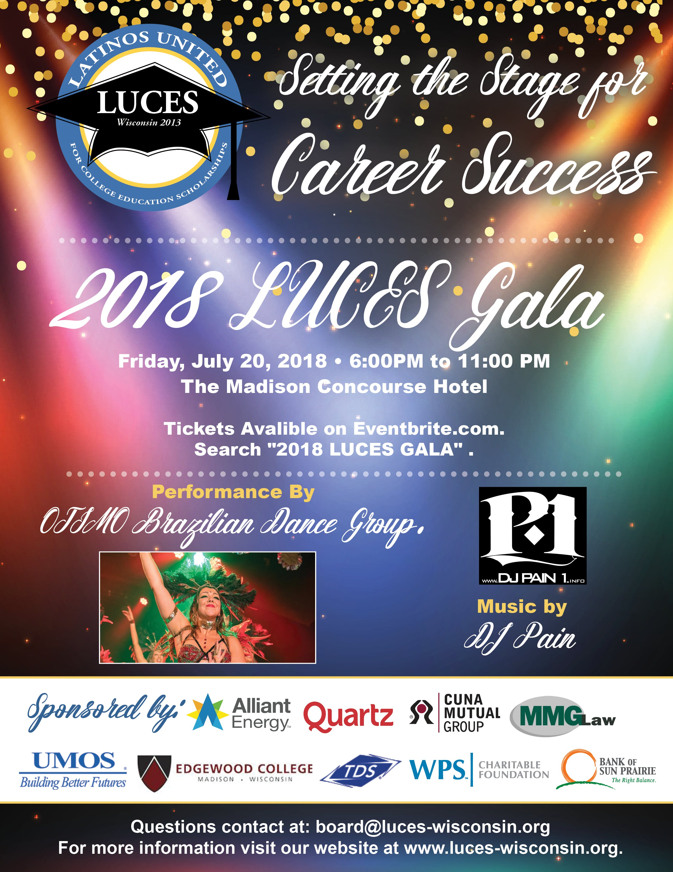"""LUCES 2018 Annual Gala """" Setting the Stage fo"""