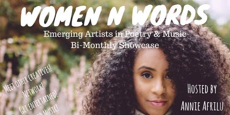 Women N Words (Networking and Comedy/Music/Performance Showcase) tickets