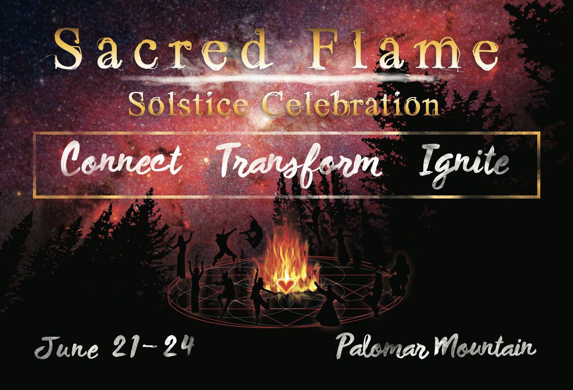 SACRED FLAME SOLSTICE CELEBRATION
