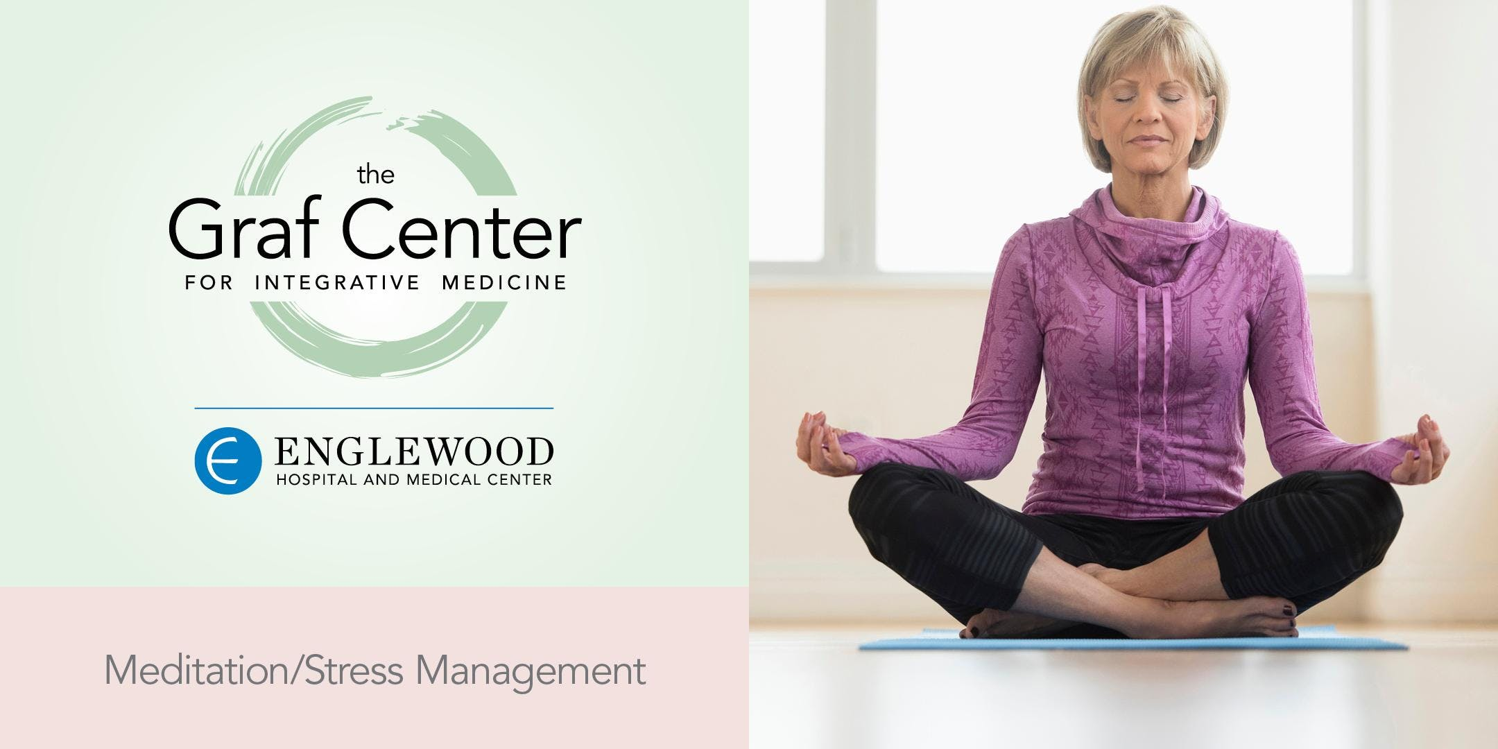 More info: Meditation for Pain Management Workshop