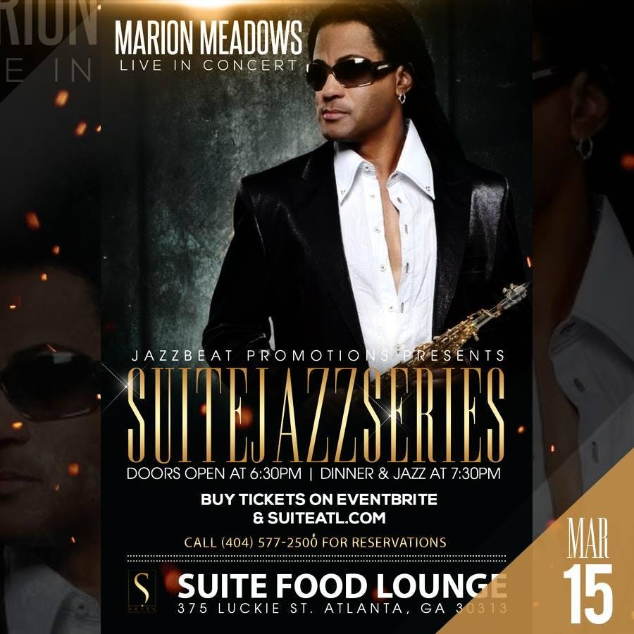 Jazz Brunch with Marion Meadows