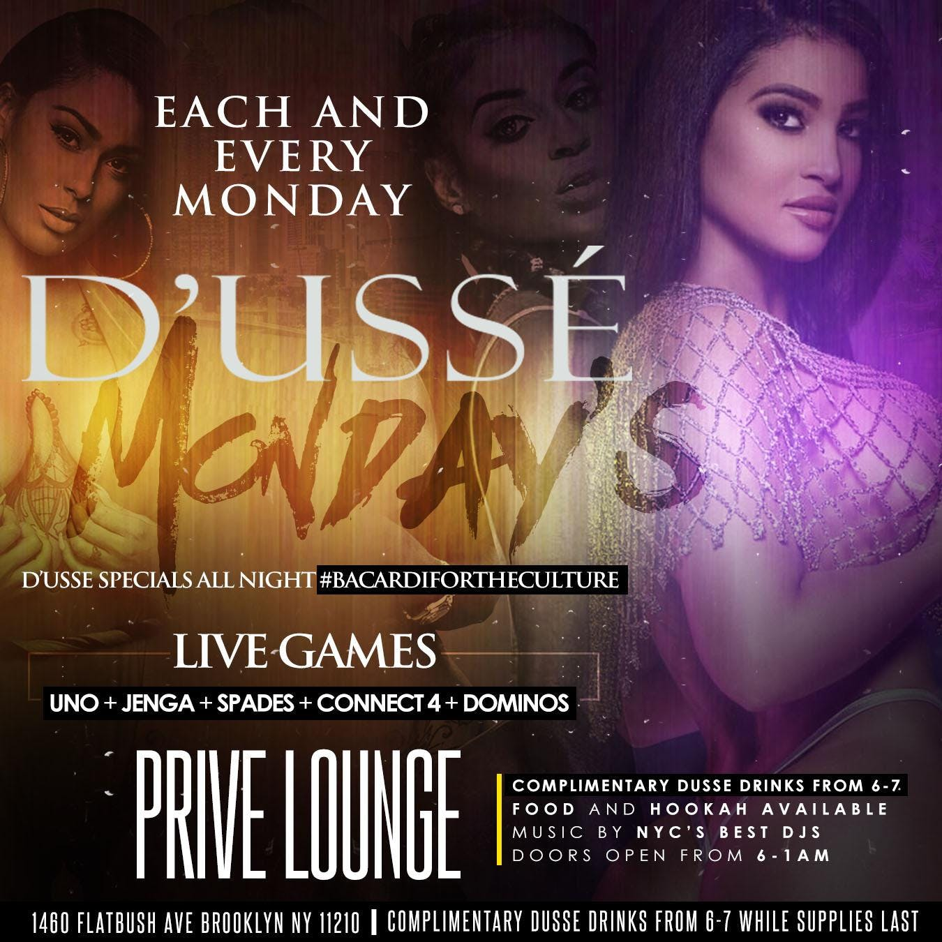D'usse Monday's Afterwork Special at Prive Lounge