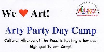 Arty Party Day Camp