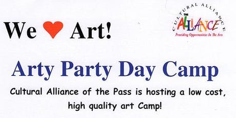 Arty Party Day Camp  tickets