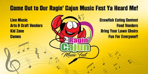 Ragin' Cajun Music Fest (VENDORS NEEDED)