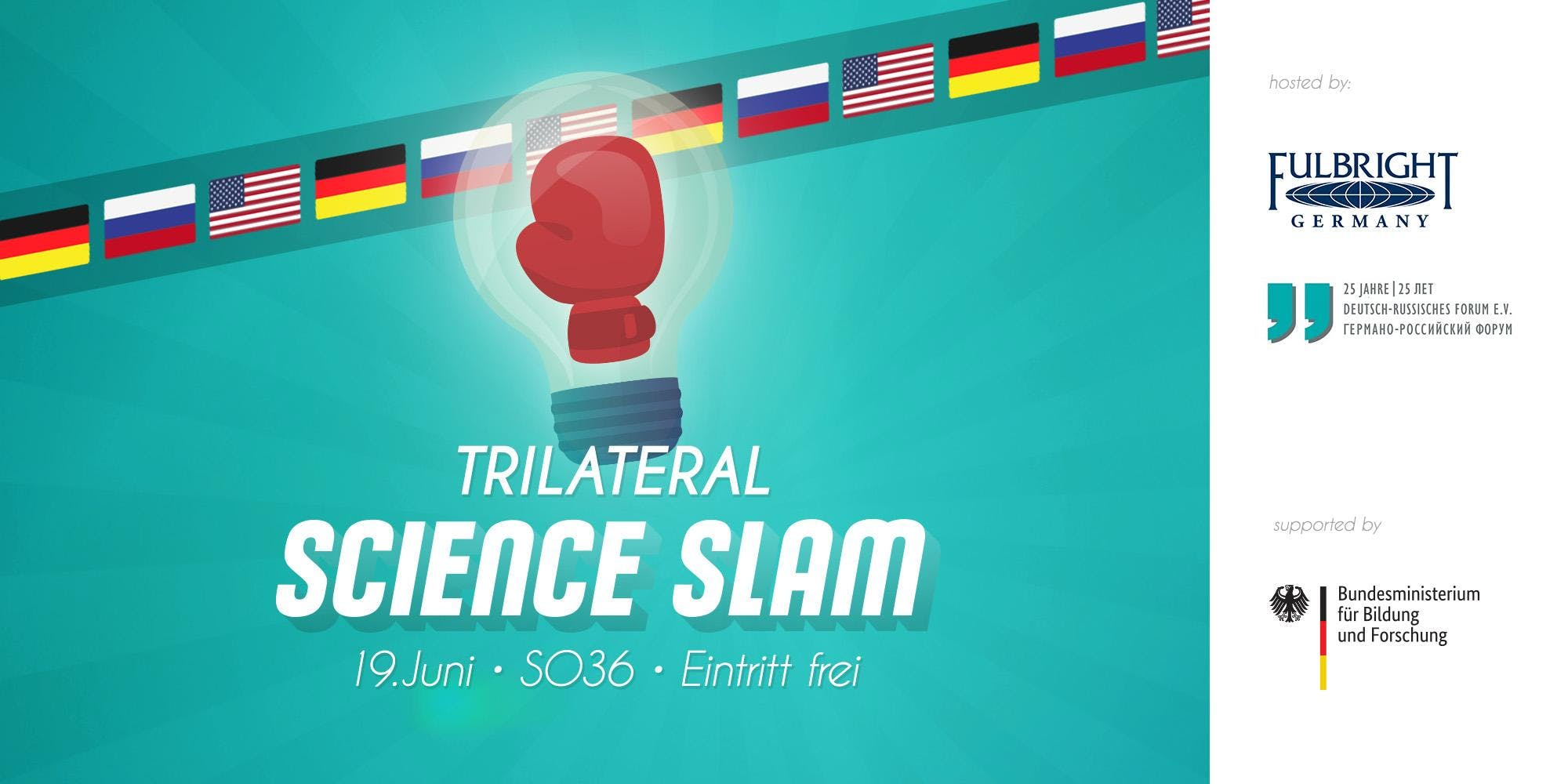 Trilateral Science Slam (German-Russia-USA)