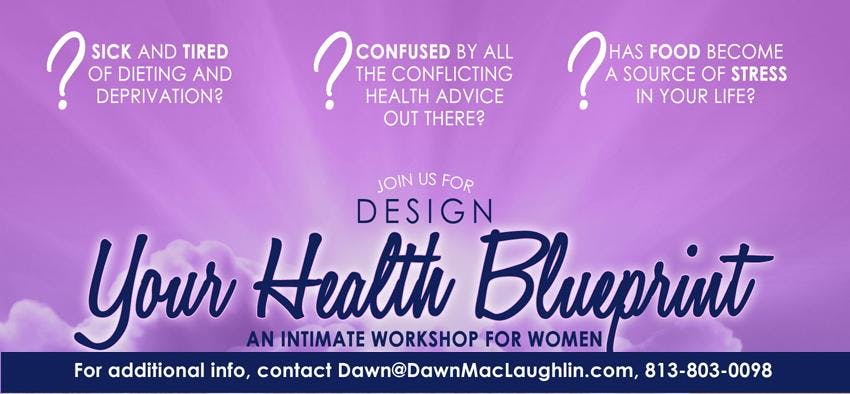 Design your health blueprint a workshop for women 23 jun 2018 design your health blueprint a workshop for women malvernweather Images