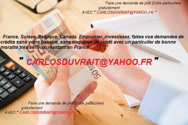 Offre De Prêt Entre Particuliers En France Be