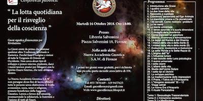 La Gnosi Universale - Corso di Meditazione: 16 Ottobre 2018
