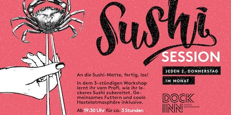 Sushi-Kochkurs im DOCK INN Hostel Warnemünde Tickets