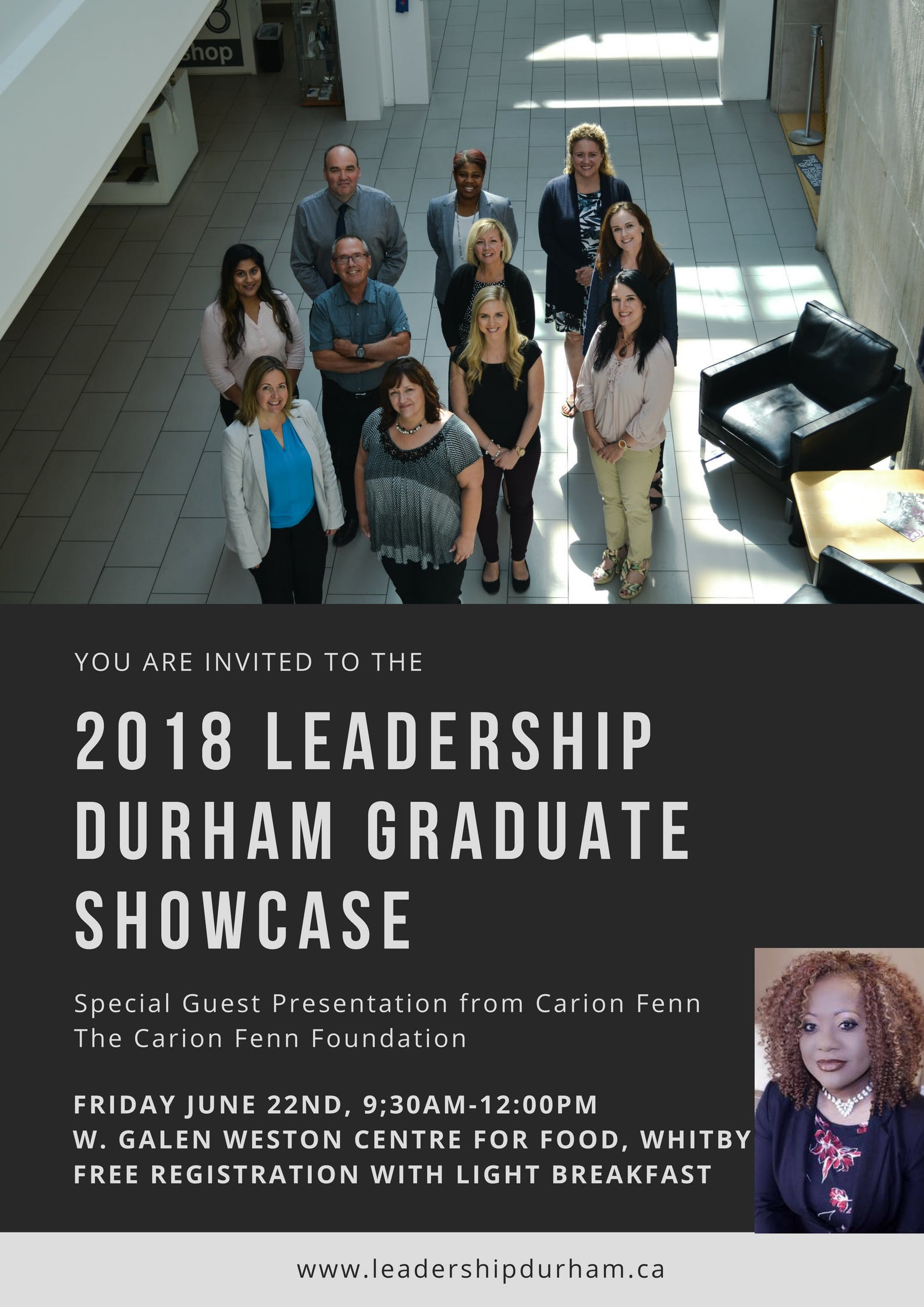 2018 Leadership Durham Graduate Showcase