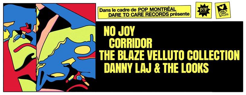 Corridor + No Joy + Blaze Velluto Collection