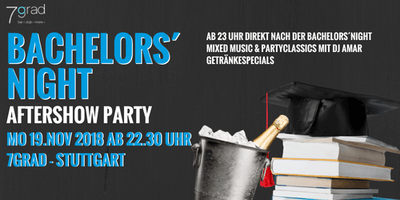 DHBW Bachelors´ Night Aftershow Party - Montag 19.11.- 7Grad