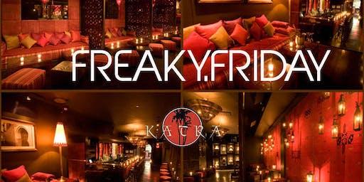 Freaky Friday (REGGAE VS HIP HOP) I Free Admission I 2 FOR 1'S I Hookah