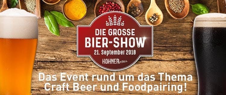Die große Biershow - Das Foodpairing und Craf