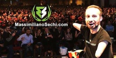 Massimiliano Sechi: NOEXCUSES in Tour - Cagliari