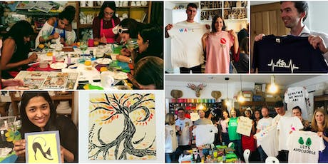 Make Your Own T-Shirts and Tiles! (with BYOB) tickets