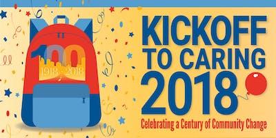 Kickoff to Caring 2018