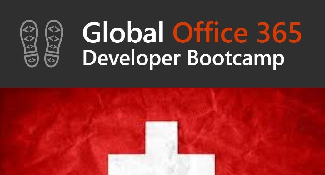 Global Office 365 Dev Bootcamp Switzerland 2018
