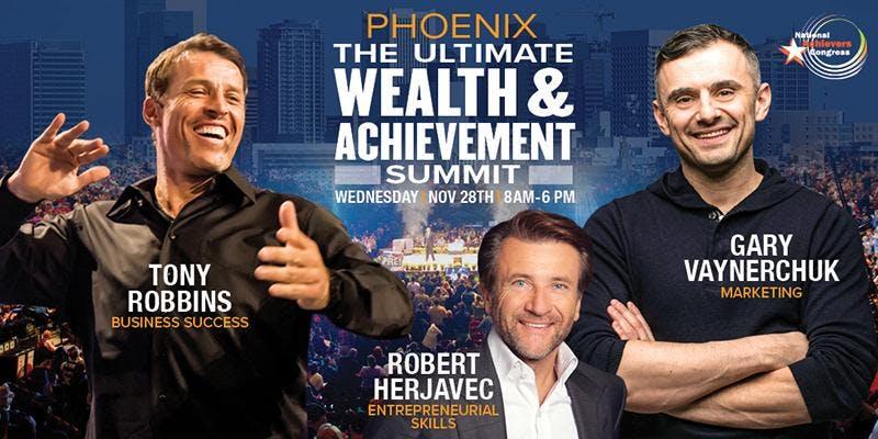 Tony Robbins and Gary Vaynerchuk Live! Phoenix