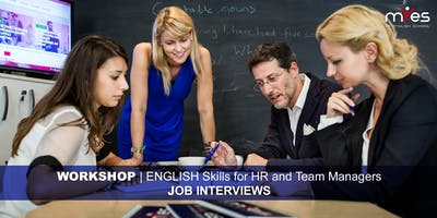 English Skills For HR and Team Managers - JOB INTERVIEWS