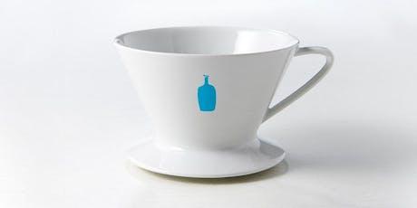 Blue Bottle Coffee Dripper – Brew Class – Hayden Tract tickets