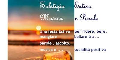 SOLSTIZIO ESTIVO MUSICA E PAROLE