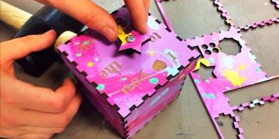 FabLabKids: Lasercut-Magic-Box - Familienevent
