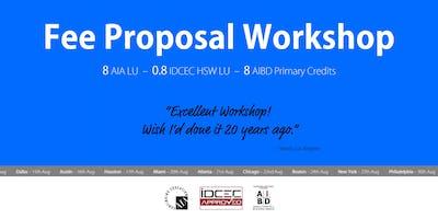 Houston Fee Proposal Workshop