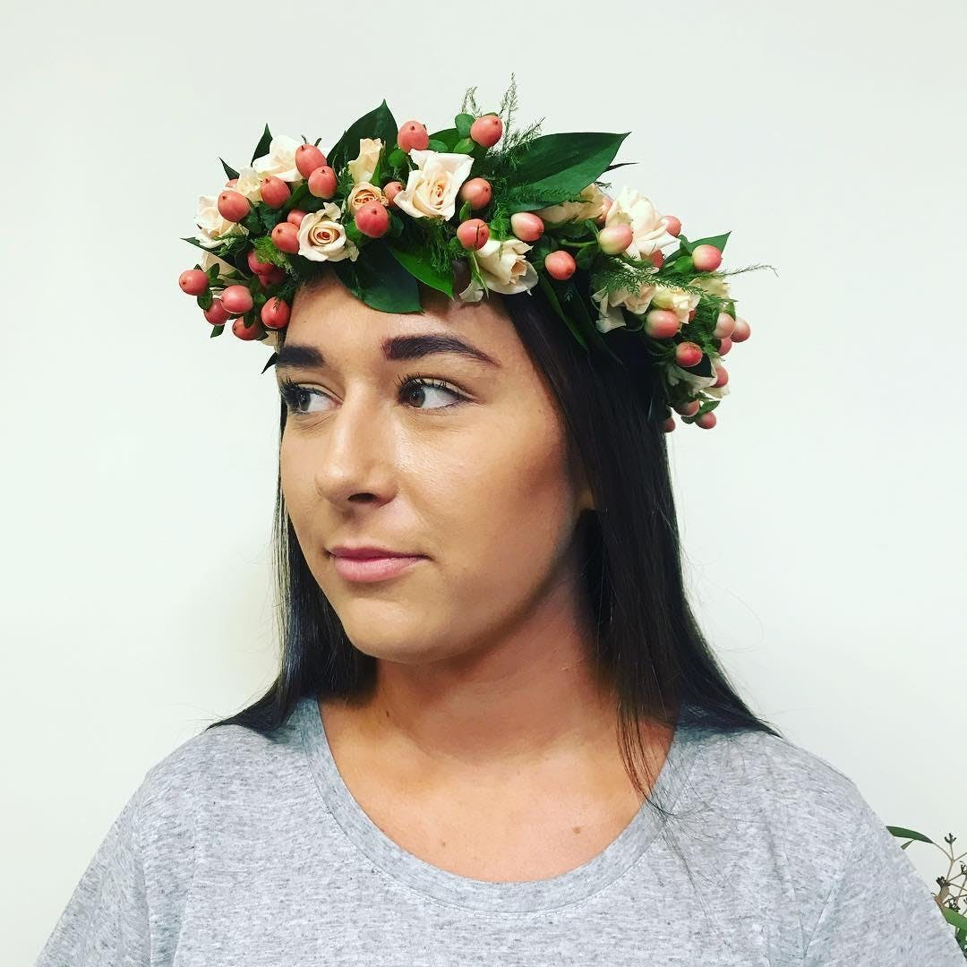 Flower Crown Workshop 14 Jun 2018
