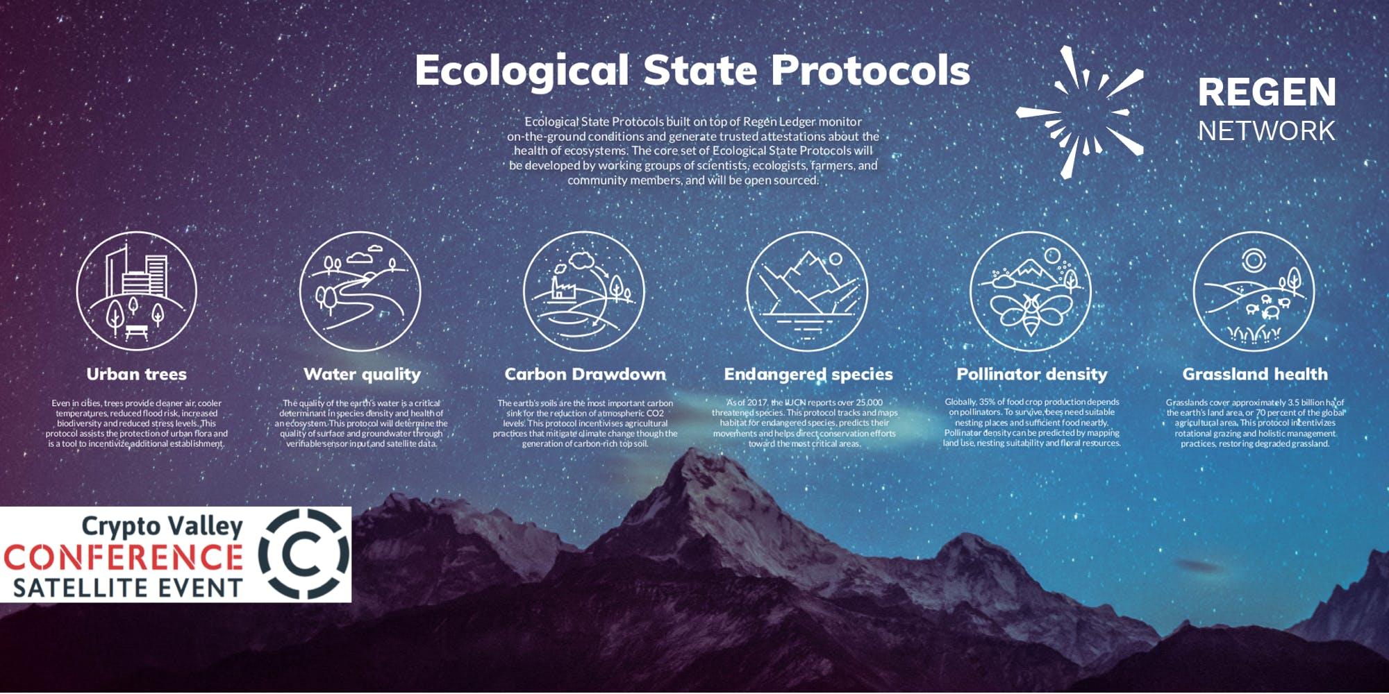 REGEN NETWORK PRESENTS:  Blockchain for the Planet